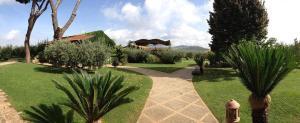 A garden outside La Meridiana