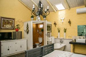 A bathroom at Somerset Stables