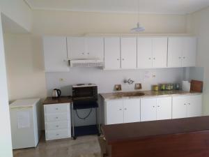 A kitchen or kitchenette at Stamatis Big Apartment