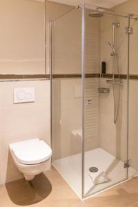 A bathroom at hotel bomonti Nürnberg West