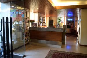 Лобби или стойка регистрации в Hotel Dona Sofia