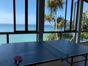 Ping-pong facilities at Pulau Weh Paradise or nearby