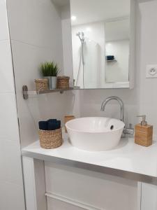 A bathroom at Loft Luxe Liberté