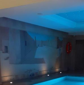 A bathroom at Hotel Beach Palace