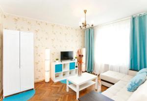 Телевизор и/или развлекательный центр в Сервисные Апартаменты на Белорусской