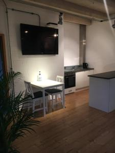 TV/Unterhaltungsangebot in der Unterkunft Apartment Reetblick