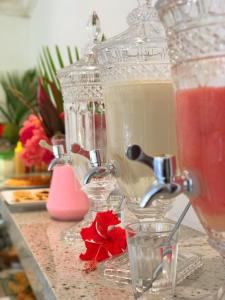 Drinks at Pousada Costeira da Barra