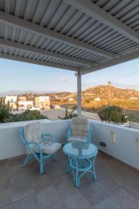 Ein Balkon oder eine Terrasse in der Unterkunft Plaza Beach Hotel