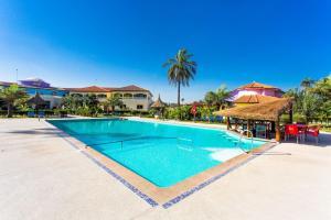 The swimming pool at or near Djeliba Resort
