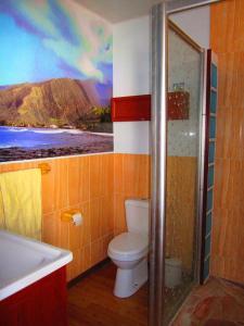 Um banheiro em Tahiti Surf Beach Paradise