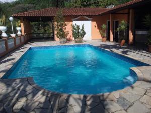 A piscina localizada em Espaço Villa Verde ou nos arredores