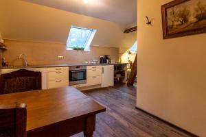 A kitchen or kitchenette at Sophienhof Achternholt