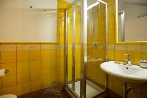 A bathroom at Agriturismo Villa Lupara