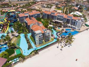 Uma vista aérea de Beach Park Resort - Acqua