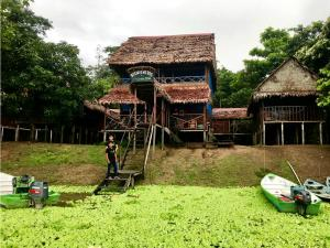 Children's play area at Yaku Amazon Lodge & Expeditions