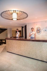 The lobby or reception area at Boracay Mandarin Island Hotel