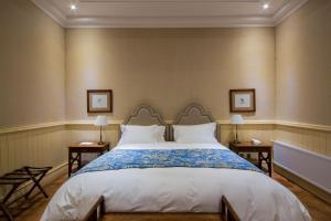 Cama o camas de una habitación en La Casona At Matetic Vineyards
