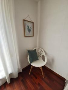 A seating area at Apartment Afonso Henriques
