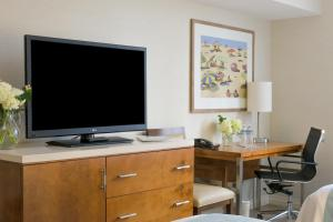 A television and/or entertainment center at Gateway Hotel Santa Monica