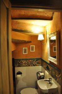 Un baño de Casa rural La Piedrapipa