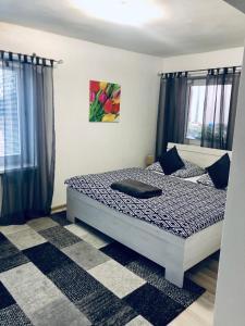Posteľ alebo postele v izbe v ubytovaní Ubytovanie MARINEL
