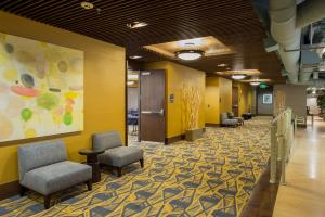 The lobby or reception area at Staypineapple, Watertown, University District Seattle