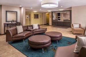The lobby or reception area at Candlewood Suites Kansas City, an IHG Hotel