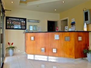 The lobby or reception area at Kyabram Motor Inn