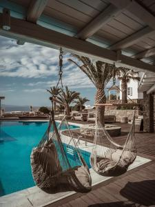 The swimming pool at or near Soho Roc House Mykonos