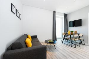A seating area at Staycity Aparthotels Venice Mestre