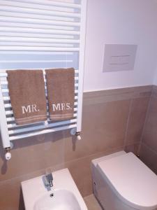 A bathroom at B&B Le Rose