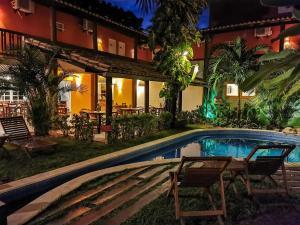 The swimming pool at or close to Pousada Tatuapara