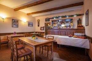 Restaurace v ubytování Penzión Harmony