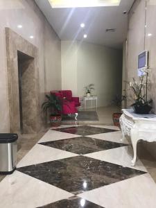 The lobby or reception area at Atlanta Residence