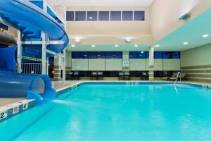 The swimming pool at or near Holiday Inn Hotel & Suites Red Deer, an IHG Hotel