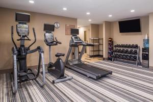 The fitness center and/or fitness facilities at Candlewood Suites Kansas City, an IHG Hotel