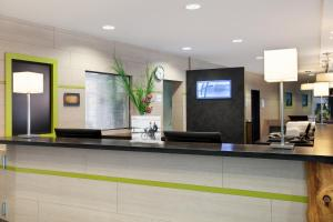 The lobby or reception area at Holiday Inn Express Augsburg, an IHG Hotel