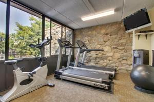 The fitness centre and/or fitness facilities at Holiday Inn Westbury-Long Island, an IHG Hotel