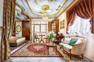 Χώρος καθιστικού στο ad Imperial Palace Hotel Thessaloniki
