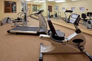 The fitness center and/or fitness facilities at Holiday Inn Express Syracuse-Fairgrounds, an IHG Hotel