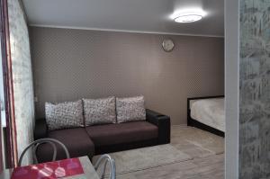 Гостиная зона в 1-к квартира на Поспелова, 15
