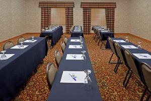 The business area and/or conference room at Holiday Inn Express Syracuse-Fairgrounds, an IHG Hotel