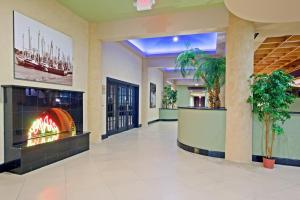 The lobby or reception area at Holiday Home Park Central Port Arthur