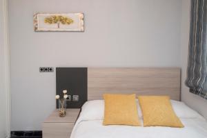 Cama o camas de una habitación en LA CASA DE ANVER