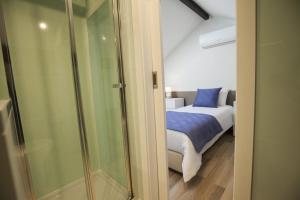 Cama o camas de una habitación en OportoWaves