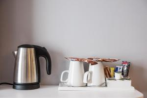 Coffee and tea-making facilities at Holiday Inn Express - Stockport, an IHG Hotel