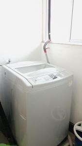A bathroom at Leezahomestay