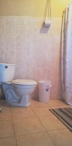 A bathroom at Backpackers Hakuna Matata Monteverde