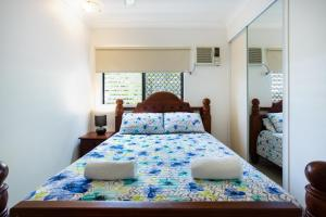 A bed or beds in a room at Casa Bohemia