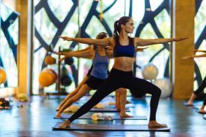 Het fitnesscentrum en/of fitnessfaciliteiten van Barceló Maya Beach - All Inclusive